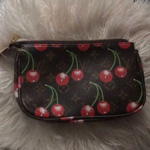 LouisVuitton Cherry Cerises Limited Edition Wallet